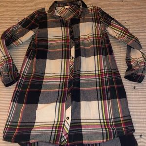 Next Direct girls flannel dress size 12